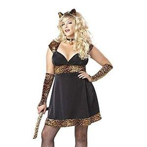 Sexy Kitty Costume 2XL/16-18